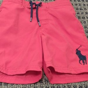 Polo Red Swimming Trunks